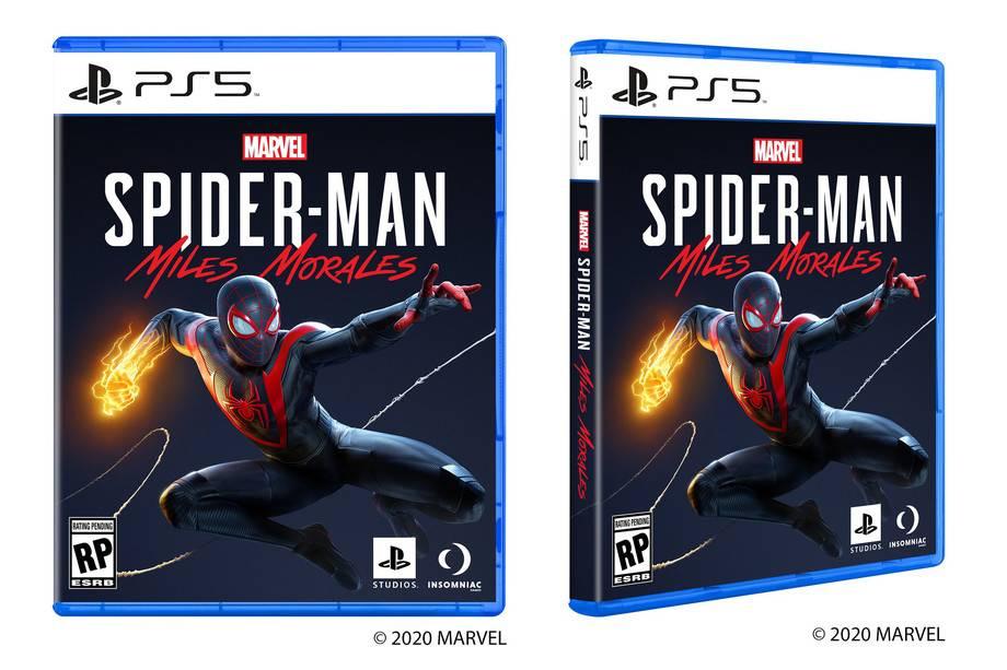 索尼公布了PS5游戏盒的设计