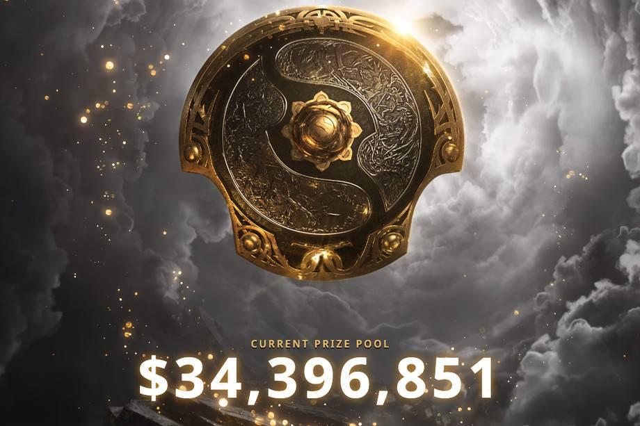Dota2的国际十项大奖破纪录地达到了34,396,000美元