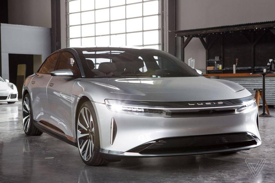 Lucid Motors公司声称其全电动空气轿车的行驶里程将达到517英里