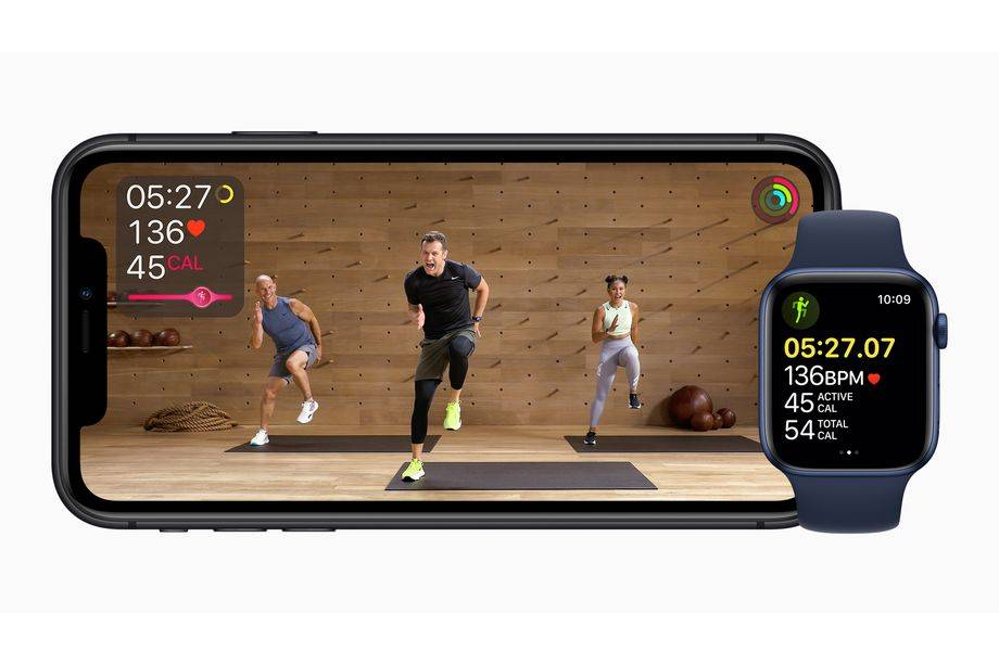 苹果推出了健身+虚拟健身