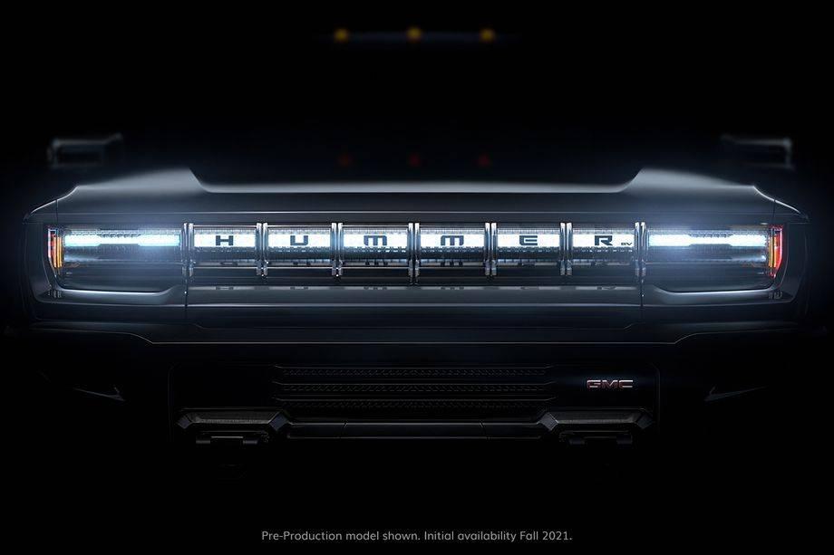 悍马电动皮卡将于10月20日发布