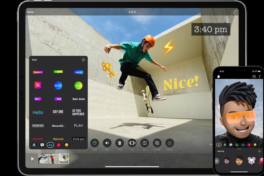 苹果的剪辑应用终于支持垂直视频