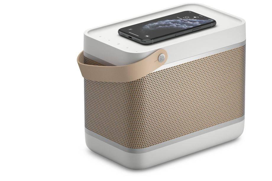 Bang & Olufsen最新的午餐盒音箱内置了Qi无线充电器