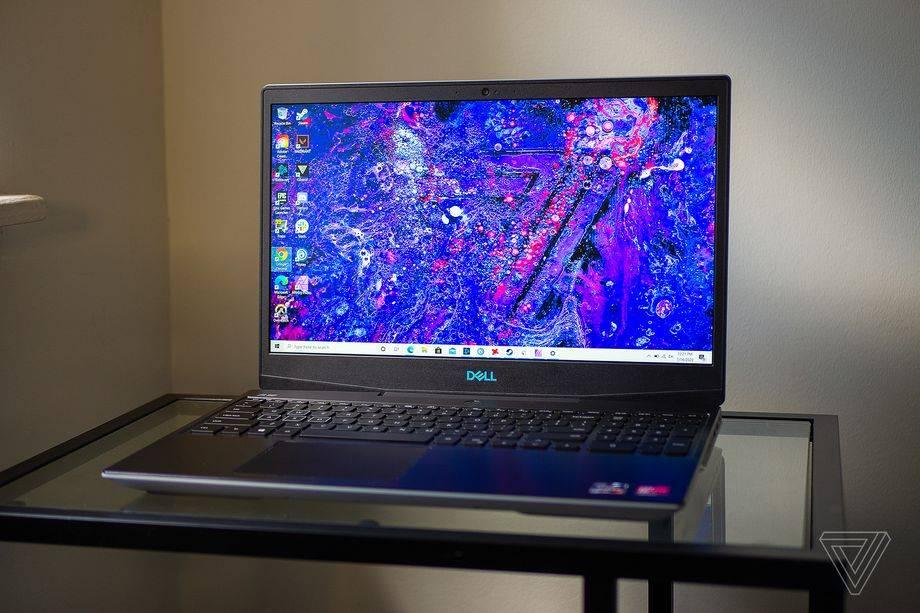 戴尔的g515游戏笔记本电脑现在降价27%