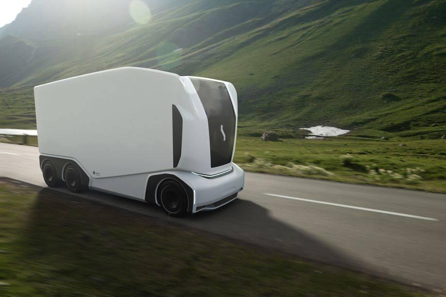 无人机卡车初创公司Einride发布了新型无人驾驶汽车,用于自动货运