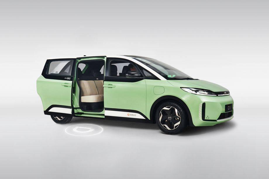 中国制造了第一辆专为叫车服务设计的电动汽车