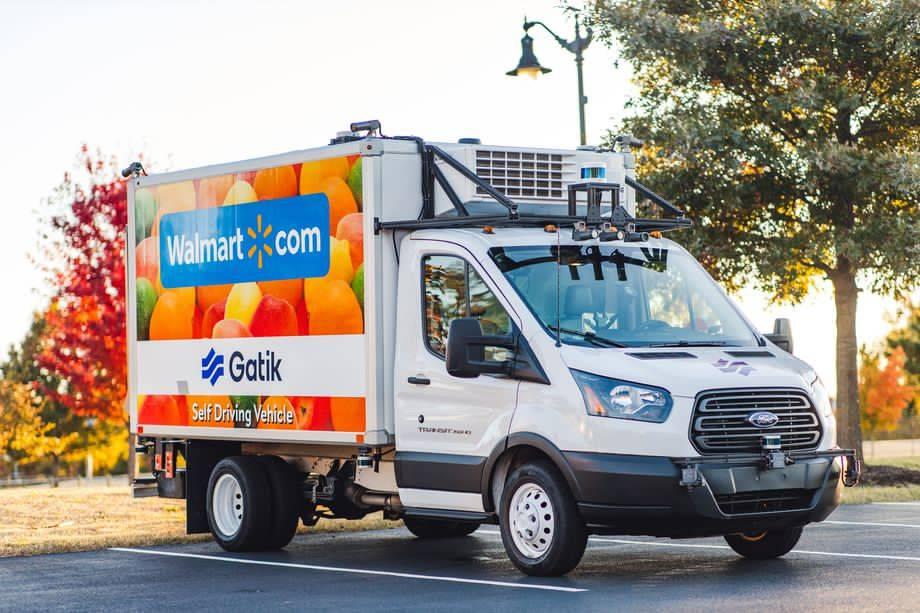 2021年,沃尔玛将使用完全无人驾驶的卡车送货