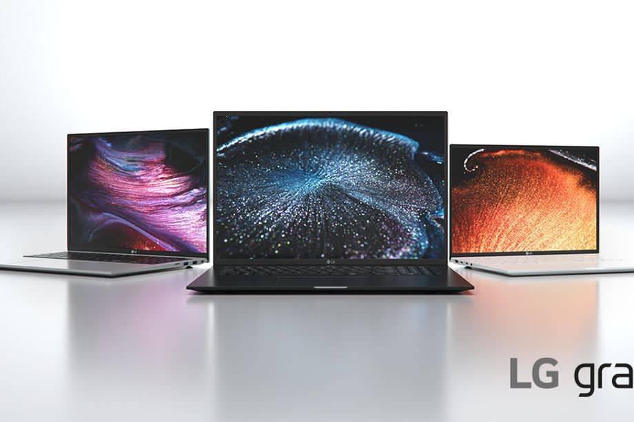 LG的2021款Gram笔记本电脑采用英特尔第11代处理器