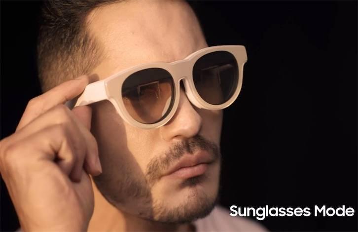 从泄露的概念视频中,三星首款AR眼镜诞生