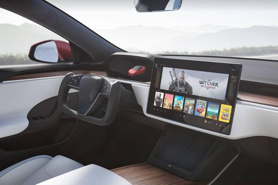 特斯拉新款Model S将在驻车、倒车和驾驶之间自动换挡