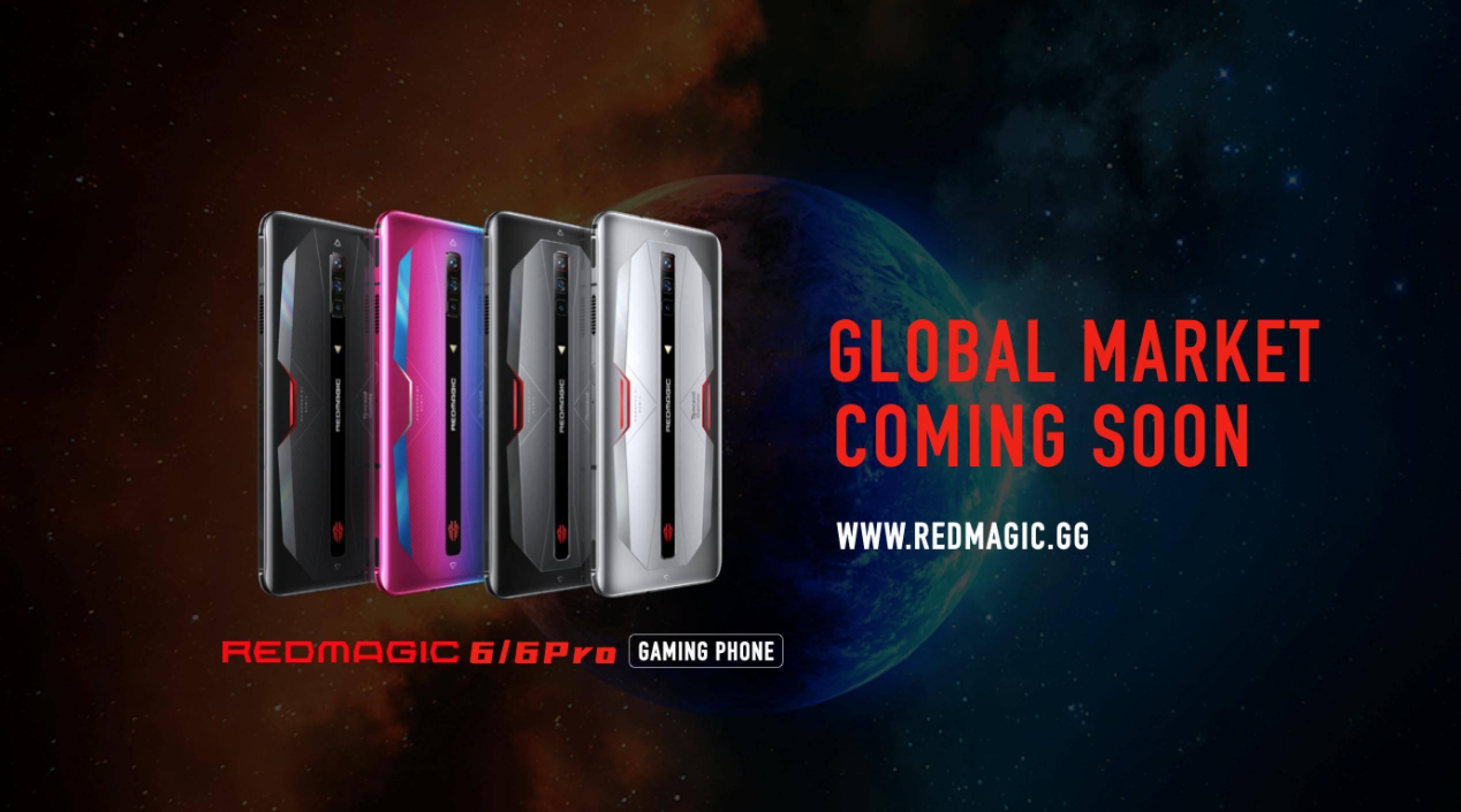 散热冰刃上分更佳!165Hz腾讯红魔游戏手机6超强发布