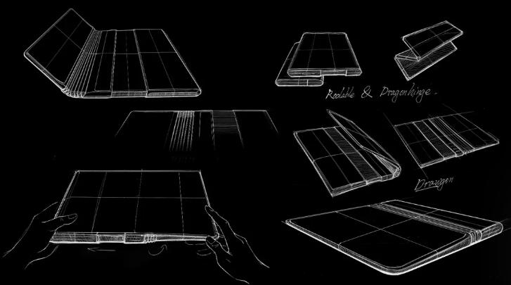 TCL正在研发即可折叠又可伸缩的手机