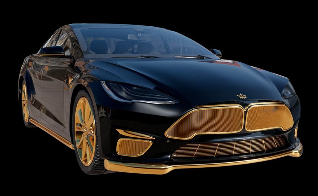 Caviar创造了世界上最奢华的特斯拉Model S