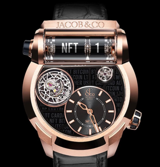 Jacob & Co.发布首款NFT手表,正式涉足NFT领域