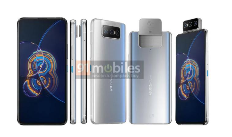 外媒曝光华硕ZenFone 8系列手机规格和照片