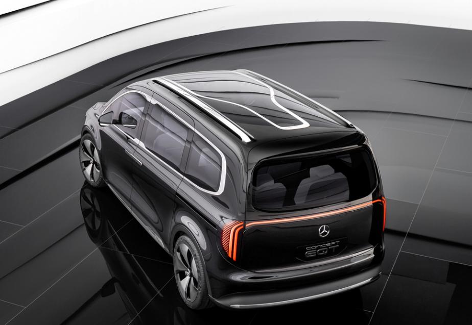 梅赛德斯-奔驰EQT概念车正式亮相