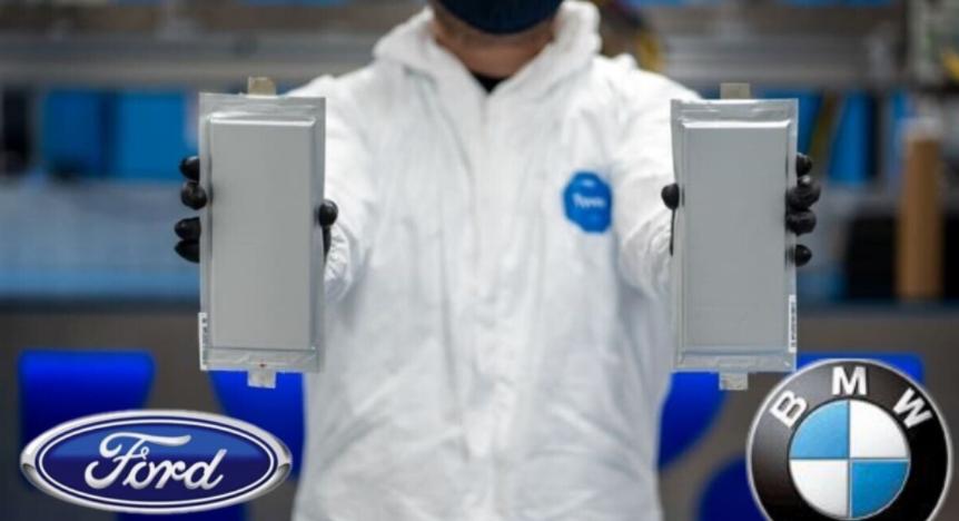 福特和宝马在电动汽车固态电池上投下巨资