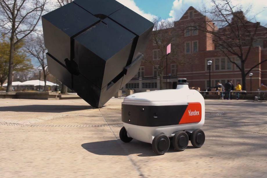Grubhub將使用俄羅斯制造的機器人在大學校園送餐