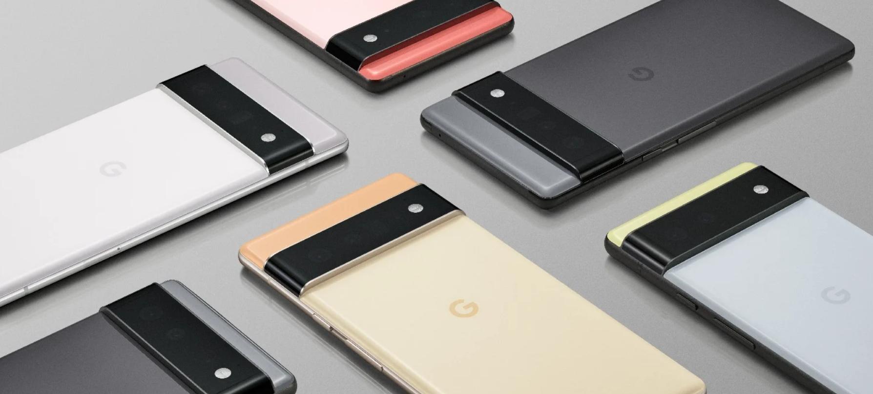 谷歌的Pixel 6和Pixel 6 Pro将使用人工智能