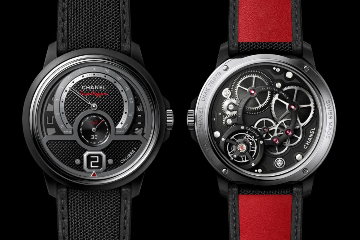 香奈儿新推一款运动版Monsieur Superleggera腕表