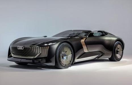 奥迪全新Skysphere概念车,可在轿车与超跑之间自由切换