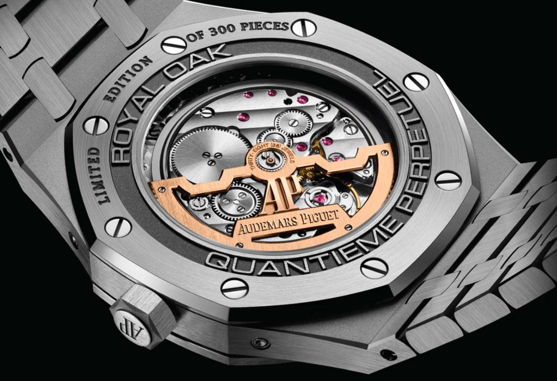 爱彼宣布向全球市场推出150件限量版皇家橡木万年历腕表