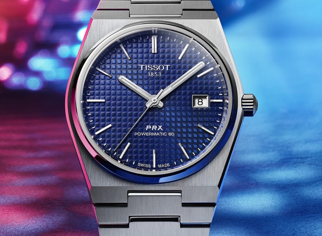 天梭带来� 全新PRX Powermatic 80腕表