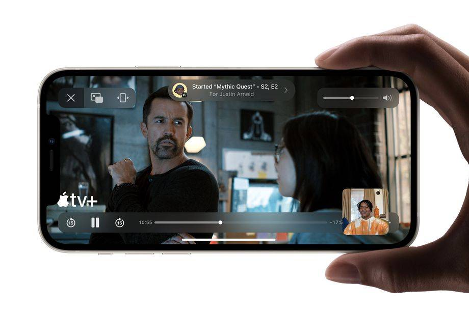 蘋果表示,SharePlay不會出現在iOS 15的初始版本中
