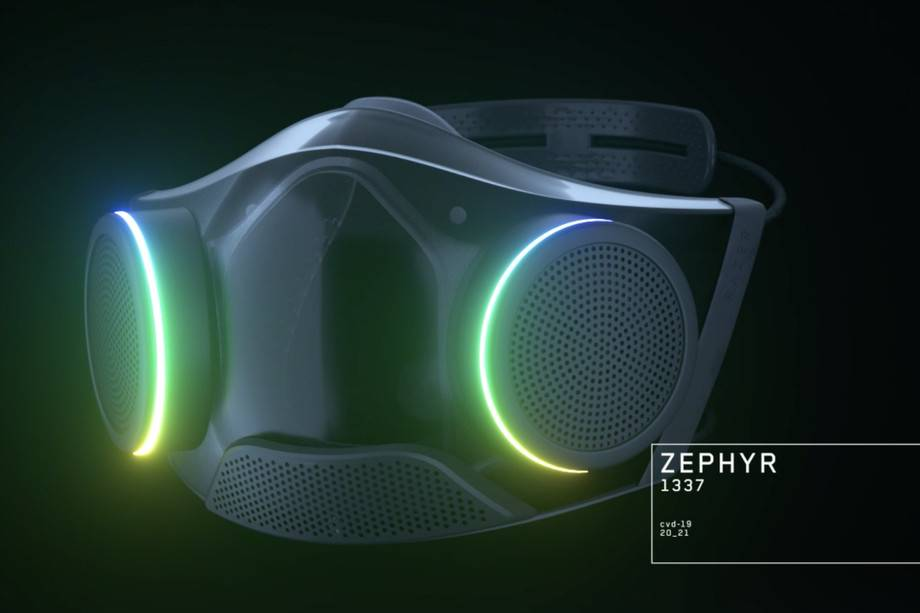 Razer將讓你注冊測試其RGB面罩