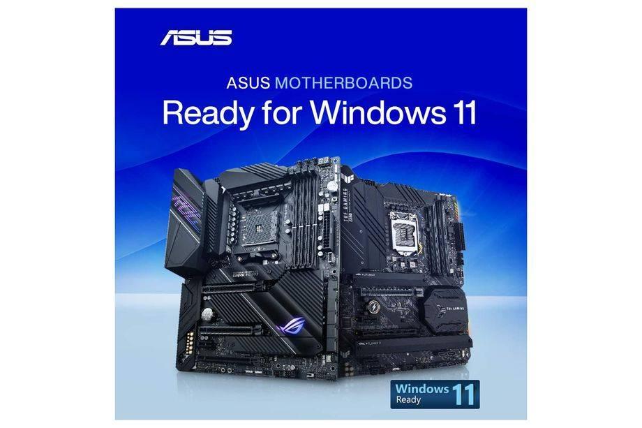 華碩發布Windows 11準備的BIOS更新與自動TPM支持