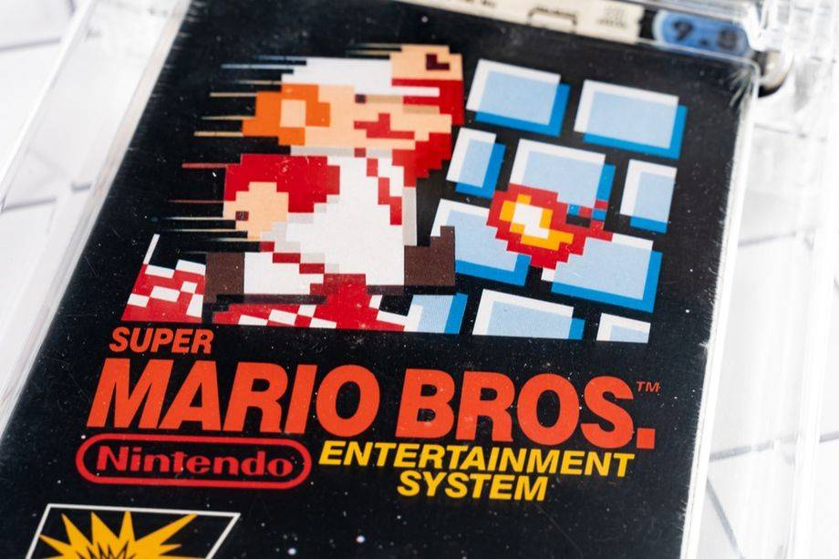 未開封的《超級馬里奧兄弟》以創紀錄的200萬美元售出