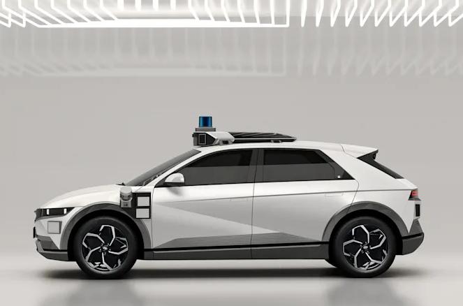 现代确定将Ioniq 5作为下一代自动驾驶出租车