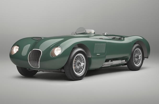 捷豹经典完美复刻1953年款车型