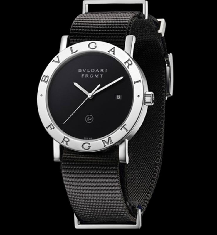 潮牌fragment和宝格丽合作推出一款限量版手表