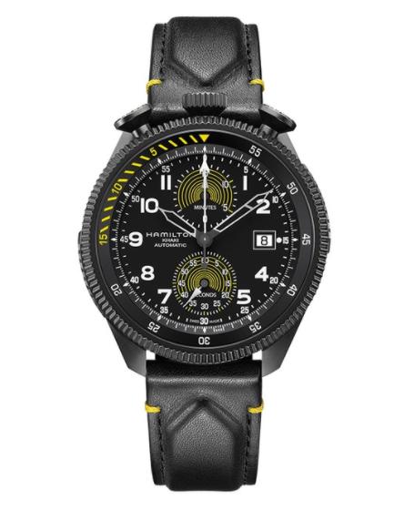 汉密尔顿用限量版计时腕表来庆祝破纪录的隧道飞行