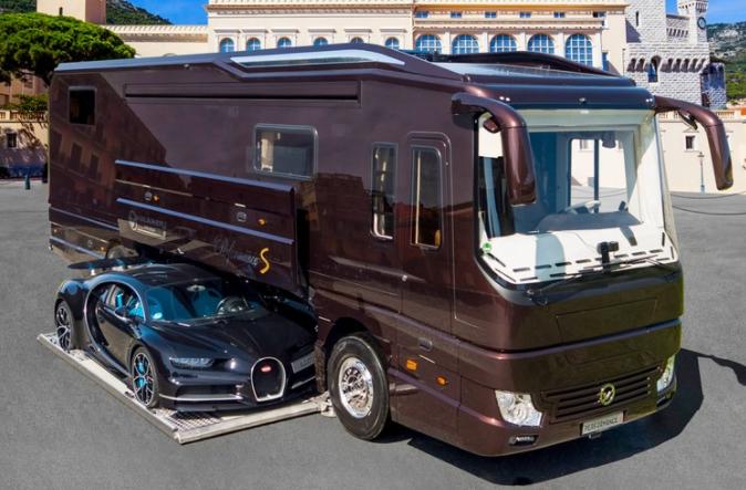 沃尔克纳推出史上最豪华房车