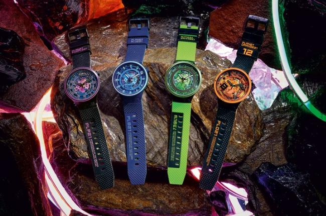 斯沃琪推出了BIG BOLD星球系列腕表