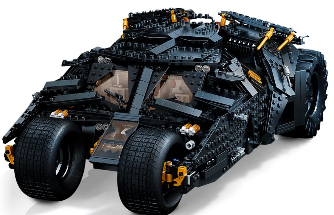 乐高推出蝙蝠侠的蝙蝠车Tumbler