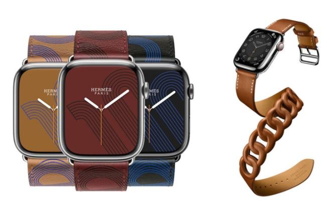 爱马仕发布苹果手表7系列表带