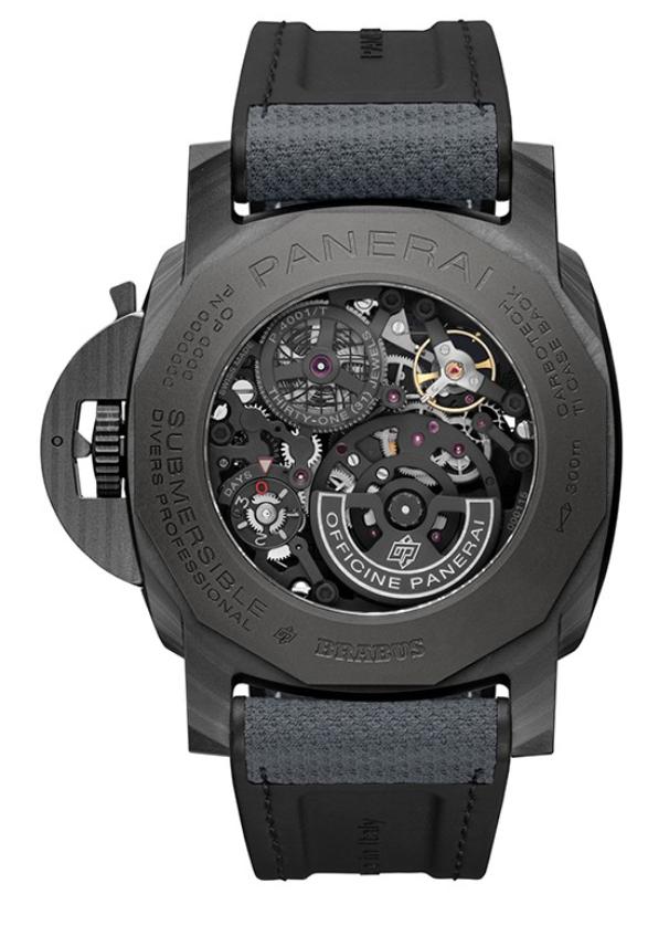 沛纳海与Brabus合作开发全新限量版腕表